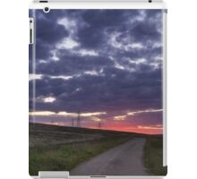 Sunset pylon iPad Case/Skin