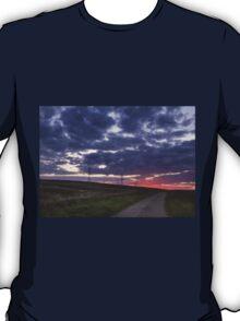 Sunset pylon T-Shirt