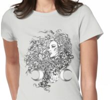 The Goddess - Seasons Womens Fitted T-Shirt