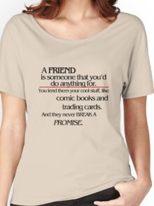 Stranger Things - A Friend Women's Relaxed Fit T-Shirt