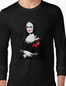 joker monalisa Long Sleeve T-Shirt