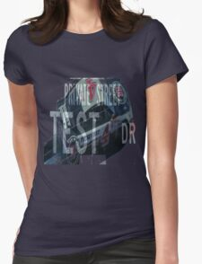 Private Street - Nascar Womens Fitted T-Shirt