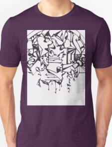 Psychedelic Twisted Lines T-Shirt