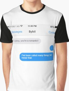 Dowager Texts: granny to Sybil Graphic T-Shirt