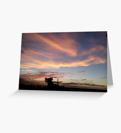 Sunset at Peace Greeting Card