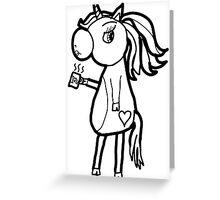 The Grumpy Unicorn Greeting Card
