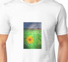 """Sunflower in Skagit Valley"" Unisex T-Shirt"
