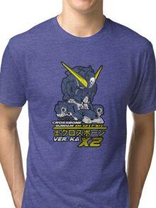 gundam crossbone x2 Tri-blend T-Shirt