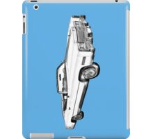 1975 Cadillac Eldorado Convertible Illustration iPad Case/Skin