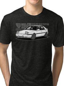 Mazda 323f BG MANGA BLACK Tri-blend T-Shirt
