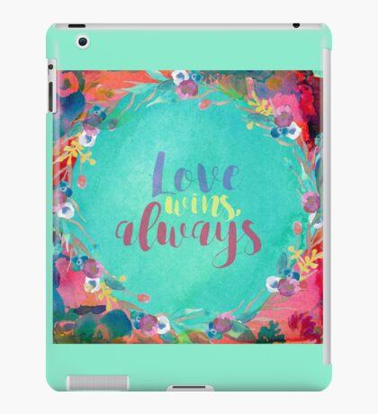 Love Wins, Always iPad Case/Skin