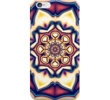Mandala kaleidoscope geometric fractal symbol 1 iPhone Case/Skin