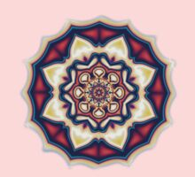 Mandala kaleidoscope geometric fractal symbol 1 Kids Clothes