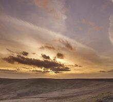 Buckstone edge sunset by chris2766