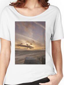 Buckstone edge sunset Women's Relaxed Fit T-Shirt