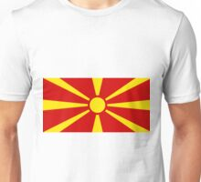 Macedonia Flag Unisex T-Shirt