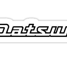 Datsun logo. Sticker