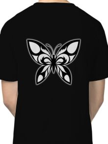 Butterfly, Tribal, Moth, Lepidoptera, Classic T-Shirt
