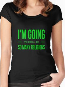 Religious Ideas Women's Fitted Scoop T-Shirt