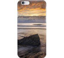 Cornwall - Trebarwith Sunset iPhone Case/Skin