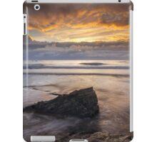 Cornwall - Trebarwith Sunset iPad Case/Skin