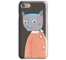 Cat Child Takes a Walk iPhone Case/Skin