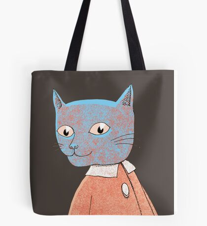 Cat Child Takes a Walk Tote Bag