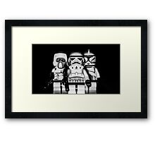 Welcome to the Darkside Framed Print