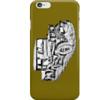 Willys World War Two Army Jeep Illustration iPhone Case/Skin