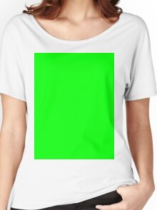 Green Screen Chroma Background For Streaming & Videos Women's Relaxed Fit T-Shirt