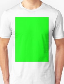 Green Screen Chroma Background For Streaming & Videos Unisex T-Shirt