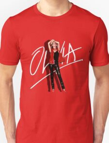 OLVIA NEWTON-JOHN - TOTALLY HOT Unisex T-Shirt