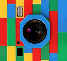 melting rubik cube camera by Johnny Sunardi