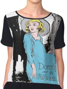 Dorothy and the Wizard of Oz Chiffon Top