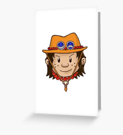 Ace - One Piece Greeting Card