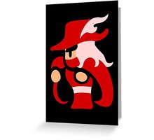 FF Red Mage Greeting Card