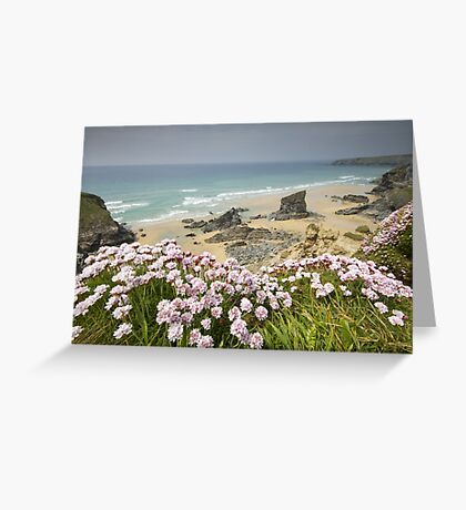 Cornwall - Bedruthan Steps Greeting Card