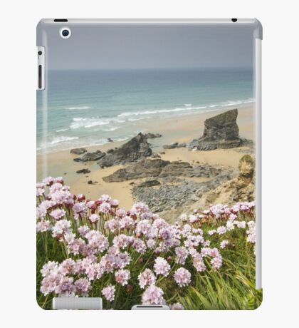 Cornwall - Bedruthan Steps iPad Case/Skin