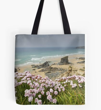 Cornwall - Bedruthan Steps Tote Bag
