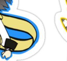 Persona 3 Aigis and Ryoji Mochizuki Sticker