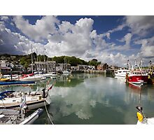 Cornwall - Padstow Harbour Photographic Print