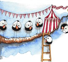 Its a circus up there by StressieCat