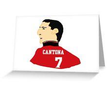 Cantona Greeting Card