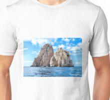 The faraglioni of Capri Island, Italy Unisex T-Shirt