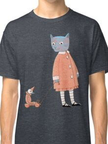 Cat Child Takes a Walk Classic T-Shirt