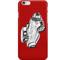 Model A Ford Pickup Hot Rod Illustration iPhone Case/Skin