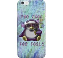 Too Cool for Fools v03 iPhone Case/Skin