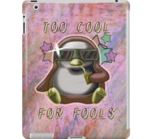 Too Cool for Fools v02 iPad Case/Skin