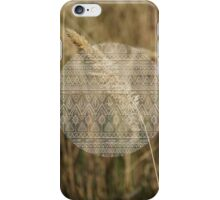 Adrift and at peace iPhone Case/Skin