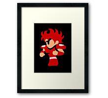 FF Fighter Framed Print